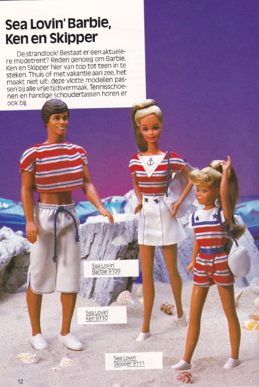 1985 Sea Lovin'Barbie, Ken en Skipper - Journaal nummer 1 - 1985 - Netherlands