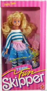 1987 #5899 TEEN FUN SKIPPER DOLL PARTY TEEN