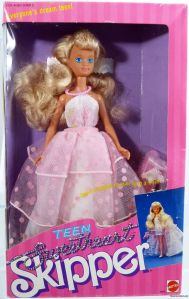 1987 TEEN SWEETHEART SKIPPER DOLL #4855