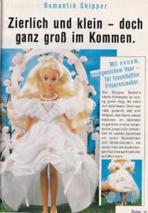 1989 Barbie Journaal - Romanik Skipper - Germany