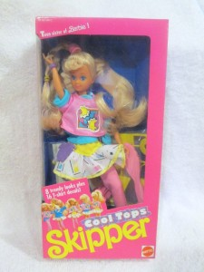 1989 Cool Tops Skipper Doll 2