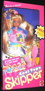 1989 Cool Tops Skipper Doll