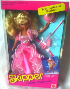 1991 2391#Skipper Beauty Pageant Doll 2