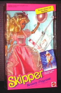 1991 2391#Skipper Beauty Pageant Doll