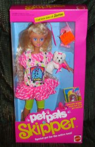 1991 #2709 Pet Pals Skipper NRFB