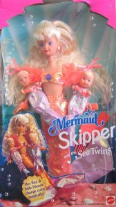 1993 # 10506 Mermaid SKIPPER and Sea Twins Babysitter Doll 2