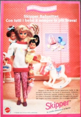 1995- SKIPPER , LA SORELLA DI BARBIE
