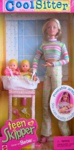 1998 Cool Sitter TEEN SKIPPER Doll - Babysitting 2 is Twice the Fun!