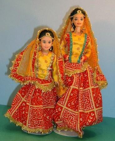 2000 Barbie and Skipper india