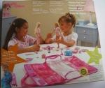 2003 Barbie & Skipper Pajama Fun Tote Playset back