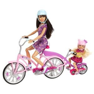 2013 Barbie Sisters bike for two playset