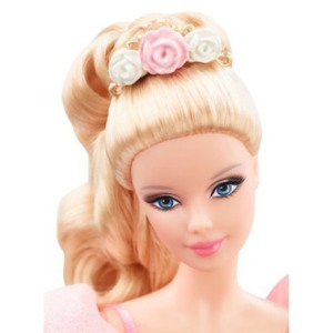 2014 Ballet Wishes™Barbie® Doll face