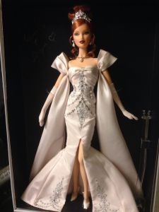 2014 Barbie Convention Nashville Platinum Artist Creations Midnight Celebration