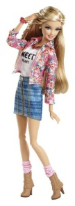 2014  Barbie Glam Luxe Style-floral-doll
