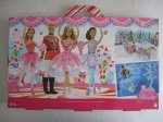 2014 Barbie in the Nutcracker Big Box Holiday Barbie Doll Gift Set b