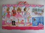 2014 Barbie in the Nutcracker Big Box Holiday Barbie Doll Gift Set b