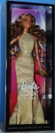 2014 BARBIE LOOK RED CARPET GOLD GOWN DOL NRFB