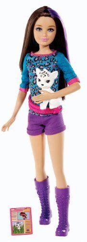 2014 Barbie Sisters Safari Skipper Doll with dog