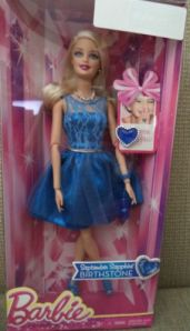 2014 Birthstone September Barbie Doll
