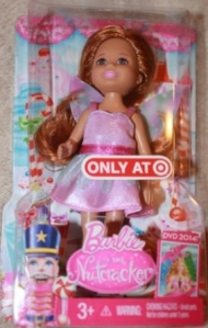 2014 Christmas Holiday Doll Kelly Nutcracker Fairy