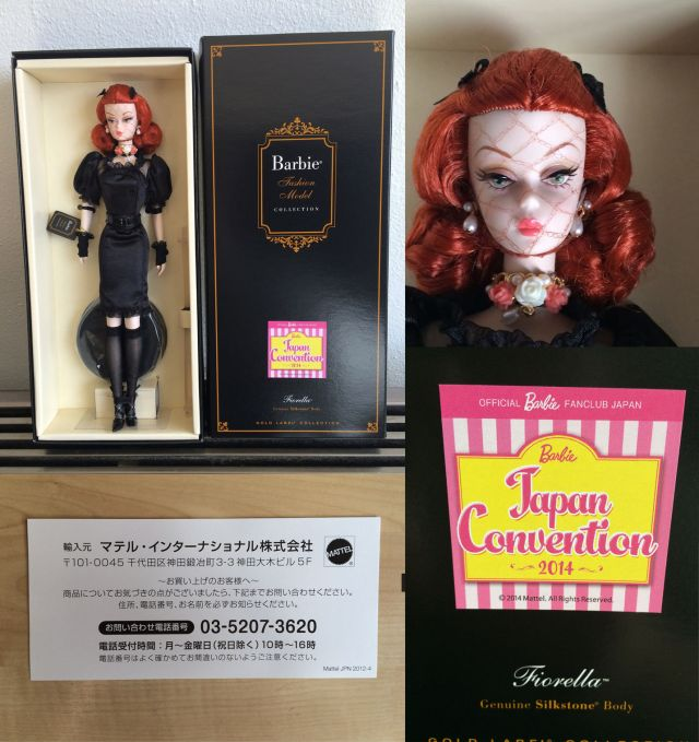 2014 Convention doll Japan