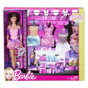 2014 Fashion Gift Set with Barbie Doll 5
