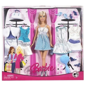 2014 Fashion Gift Set with Barbie Doll
