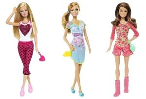 2014 Fashionistas Pyjamaparty Barbie dolls
