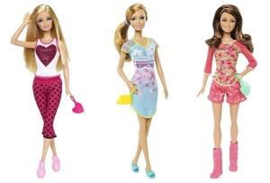 2014 Fashionistas Pyjamaparty Barbie dolls