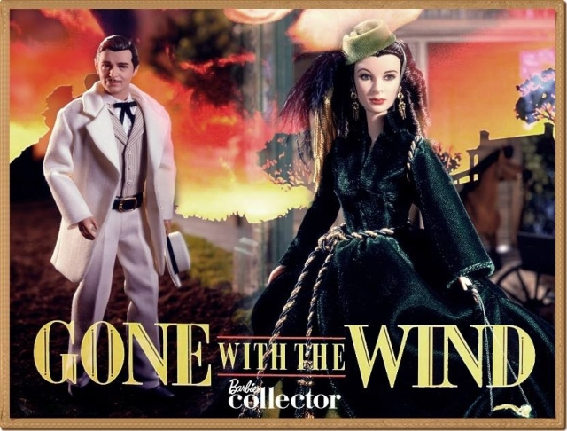 2014 Gone with the wind Barbie dolls