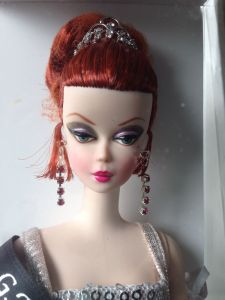2014 Grant A Wish Silkstone Convention Barbie Doll face