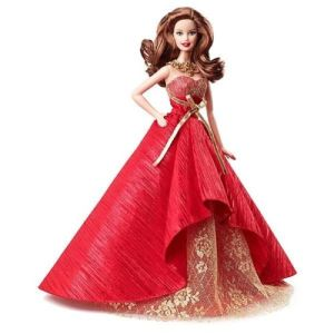 2014 Holiday Barbie Brunette flyer