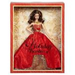 2014 Holiday Barbie Brunette
