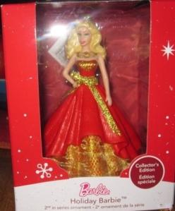 2014 Holiday Barbie Orament