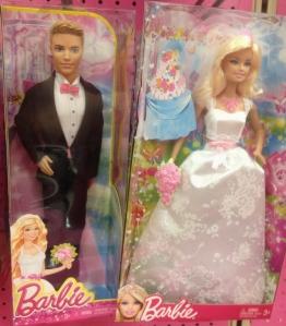 2014 Ken Groom and Barbie Bride