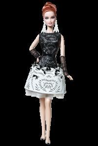 2014 Laser-Leatherette Dress Barbie® Doll