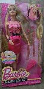 2014 Life In Dreamhouse Hairtastic Barbie Doll with DVD