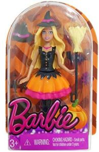 2014 Miniature Barbie Halloween doll.