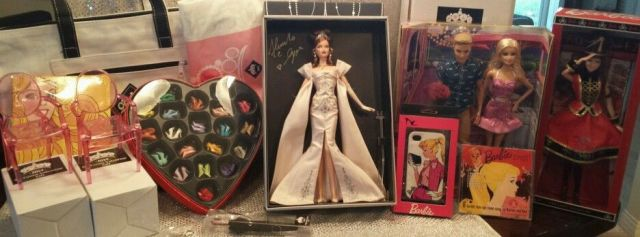2014 National Barbie Convention Midnight Celebration Complete Package Signed