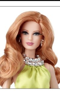 2014 Red Carpet™Barbie® Doll yellow face