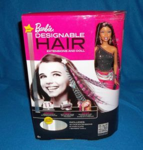 Barbie Designable hair with extenstions aa