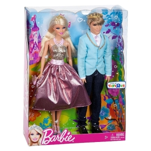 Barbie - Fairytale Royals Barbie & Ken Dolls