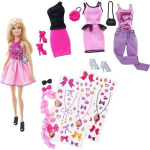 Barbie Fashion Activity Gift Set f