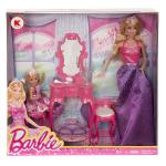 Barbie Getting Ready for the Ball n