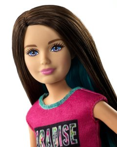 Barbie Great Puppy Adventure Skipper Doll face