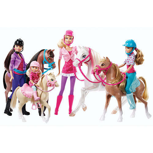 Barbie & Her Sisters in A Pony Tail