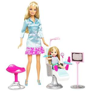 Barbie I Can Be a Dentist Play Set