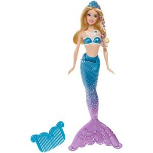 Barbie in the Pearl Princess Blue Mermaid f