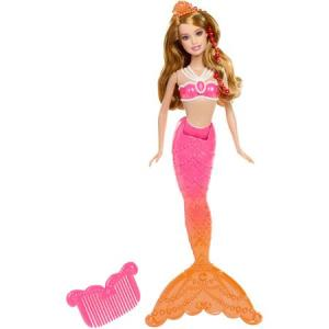 Barbie in the Pearl Princess Coral Mermaid f