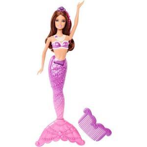 Barbie in the Pearl Princess Purple Mermaid f
